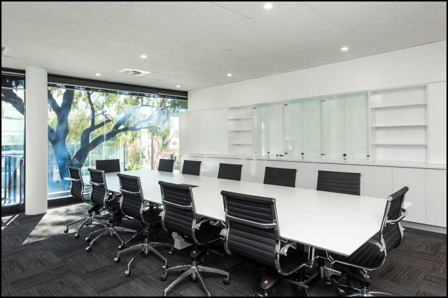 Boardroom - Office Fitout West Perth
