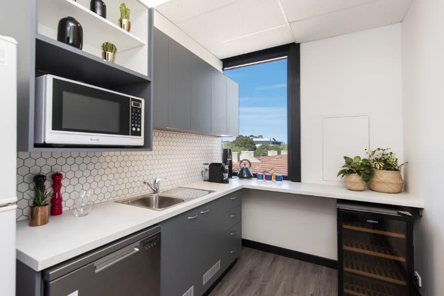 Octete Office Fitout Modern Kitchen