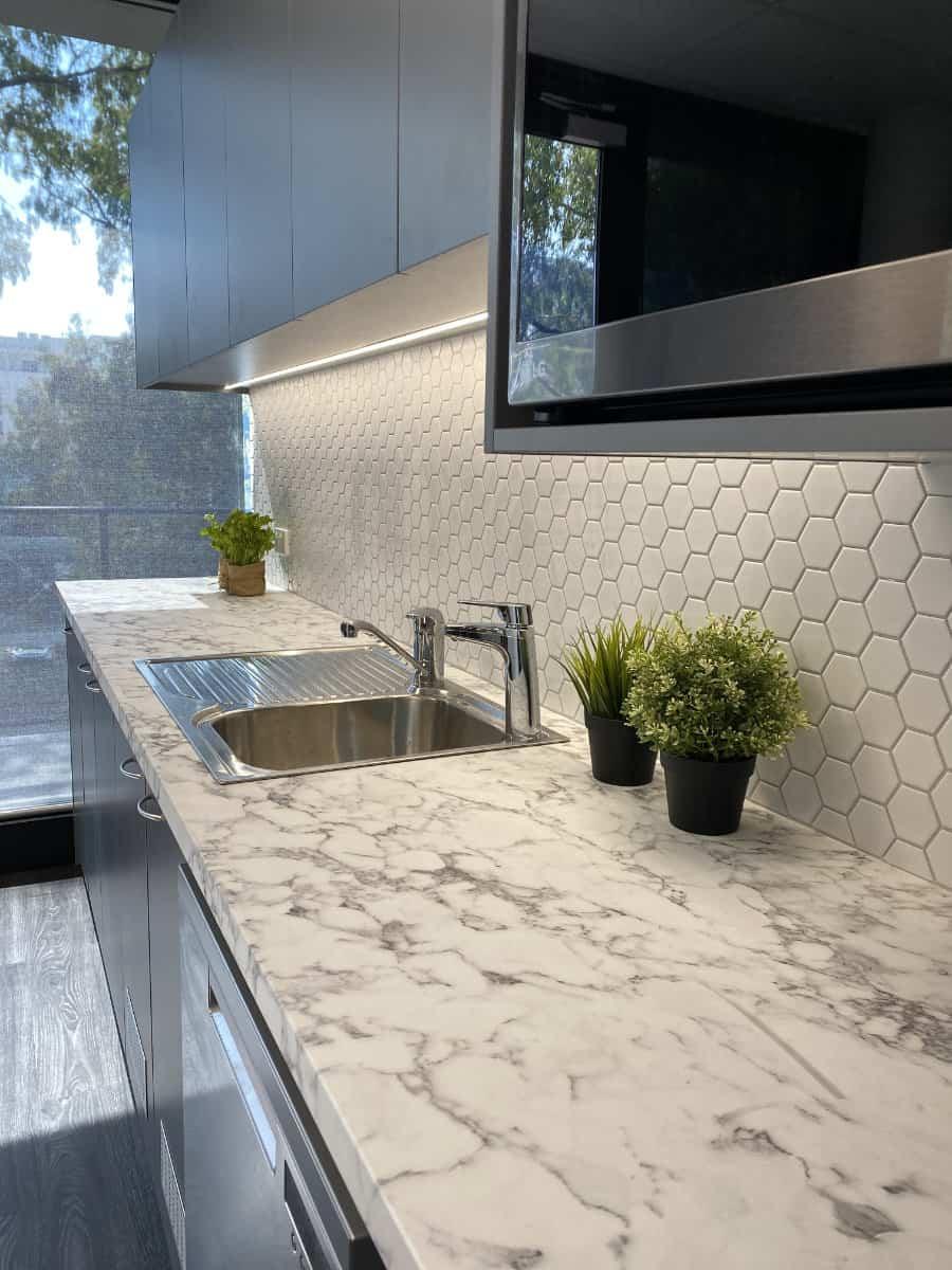 Rox Resources Marble Kitchen Bench