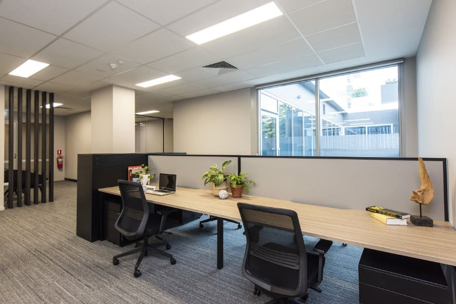 Workstations Open Plan Area Reva